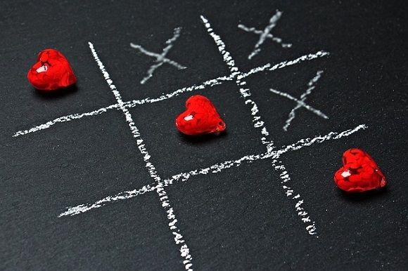 Cœurs rouges