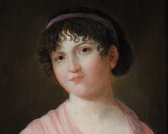 Portrait représentant Mlle Lenormand
