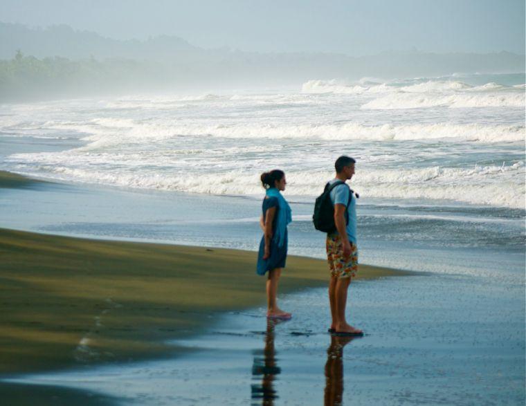 couple sur une plage