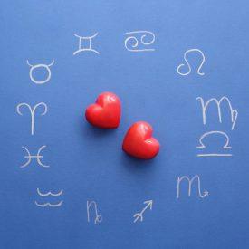 zodiaque et coeurs