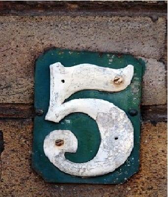 numérologie 5